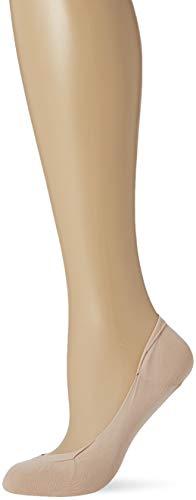 Pretty Polly Damen Cooling Ballerina Footsie 1pp Füßlinge, 30, Beige (Nude Nude), Large (Herstellergröße: ML) (3er Pack)