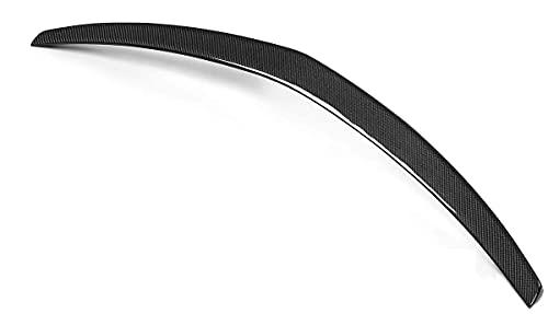 YMSHD Adecuado para Mercedes W207 C207 Coupé 2 Puertas E350 E550 2010-2016 alerón de Carbono de Rendimiento alerón de Maletero ala