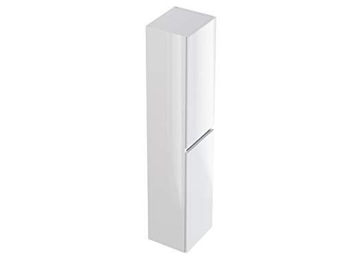 Marchio Amazon -Movian Argenton - Colonna da bagno, 30 x 27 x 140 cm, colore bianco