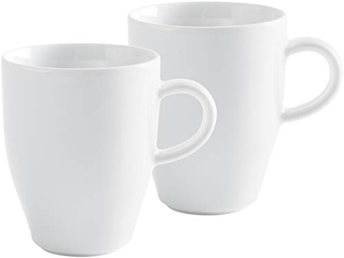 Kaffeebecher Set 2 teilig Café Sommelier 2.0 weiß, 320 ml