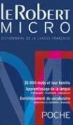 Le Robert Micro Poche Dictionnaire de la Langue Francaise