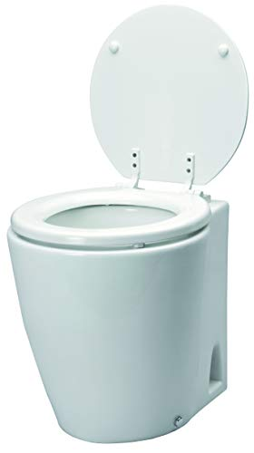 Laguna Johnson Pump Electric Toilette Modell Bootstoilette Hydro-Vacuum 12V / 15A Bord WC