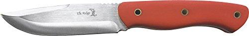Elk Ridge Couteau d'extérieur Hunter Orange G10 poignée, Longueur Totale cm : 25,4, elkr de 1208