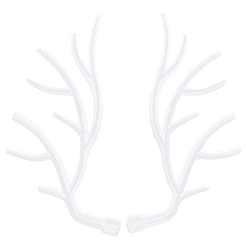 CUTULAMO Molde De Cuerno De Ciervo, Moldes para Manualidades De Bricolaje De Silicona Ligera con Superficie Lisa para Almacenar Joyas para Almacenar Pendientes