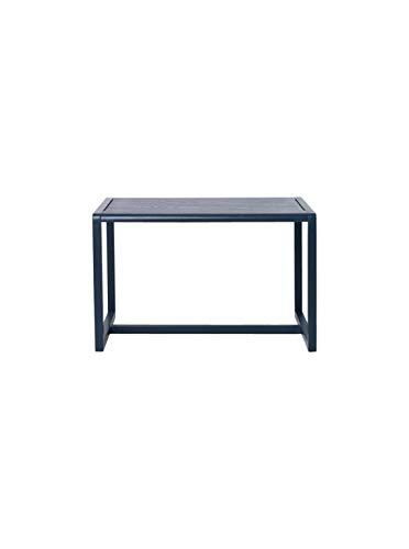 Ferm Living Little Architect Kindertisch, Eiche, blau, 76cm