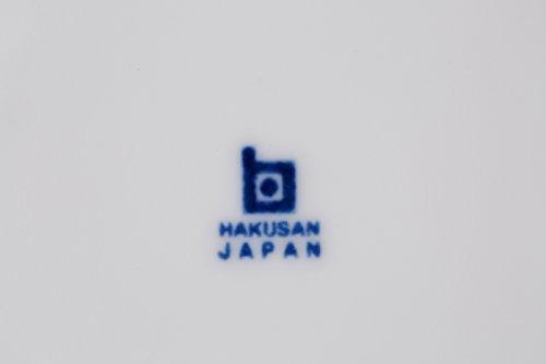 白山陶器ボール(中)白磁(約)φ15.5×5cmコモCOMMO波佐見焼日本製ama-521082