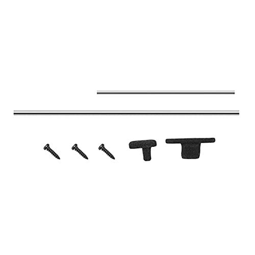 F Fityle Rack de Techo Rack Equipaje / Visor de Ventanas Windows Sun / Antena para WPL D12 Mejora de La Mejora Toy RC Coche - Antena