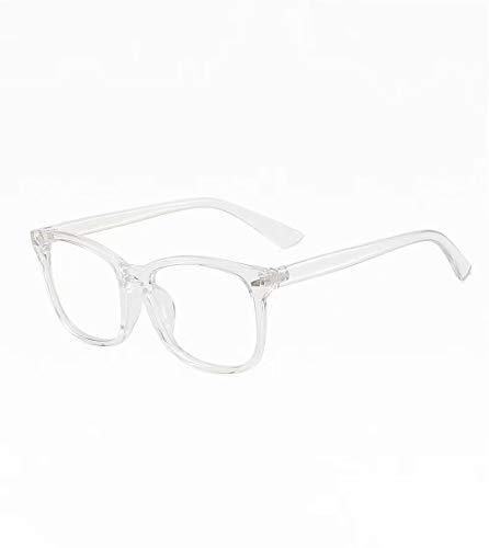 Xinhengchen - Gafas de ordenador antirayos UV, para vídeo, PC, TV, antideslumbrantes, antifatiga y fatiga visual, color azul, 140 x 45 x 143 mm