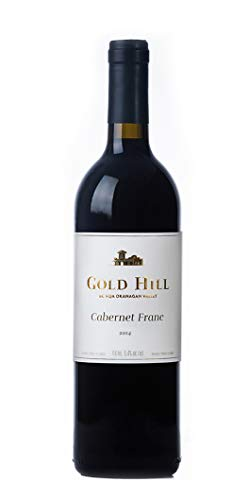 Gold Hill 2014 Cabernet Franc Rotwein, Kanadischer Wein - Okanagan Valley Kanada BC VQA (1x0,75 l)