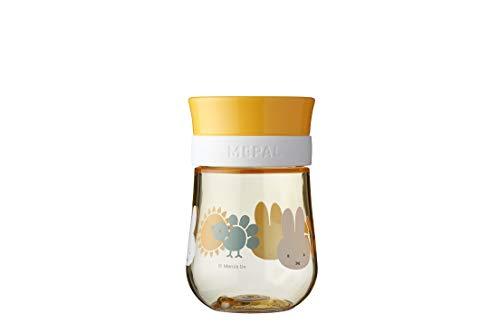 Mepal Mio – 360° Trinklernbecher Miffy explore – Trinklernbecher ab 9 Monate – auslaufsicher – spülmaschinengeeignet