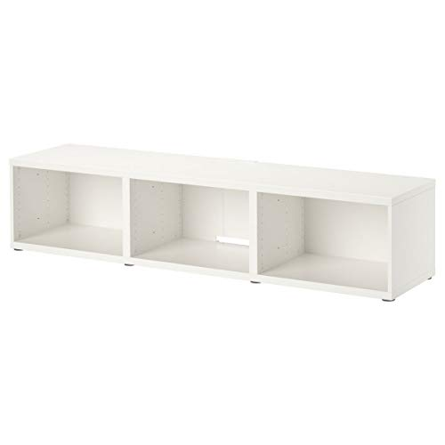 IKEA BESTÅ - Mueble para TV (180 x 40 x 38 cm), color blanco