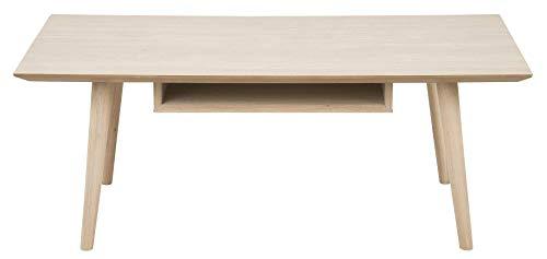 24Designs Salontafel Seventies - 120x60x46 - Eiken White Wash