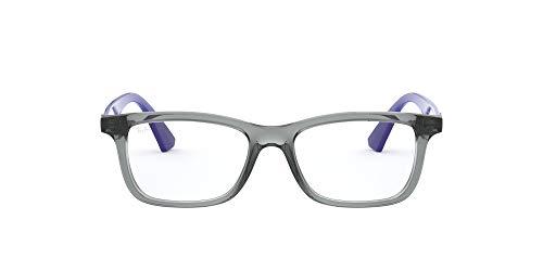 Óculos de Grau Ray Ban Junior Ry1562 3745/48 Cinza Transparente/azul