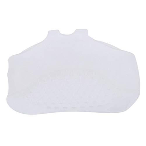Underleaf Talons Hauts Invisible Insole Cushions Silicone Doux Avant-Pied Souple Pads Semelles Anti-DéRapantes Demi-Yard Pad (Color1)