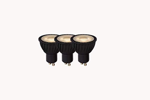 Lucide LED Bulb - LED-lamp - Ø 5 cm - LED dim. - GU10-3 x 5 W 3000 K - zwart