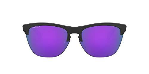 Oakley Frogskins Lite Gafas, Negro Mate, 63 Unisex Adulto