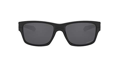 Oakley Herren Jupiter Squared Sonnenbrille, Schwarz (Polished Black), 56