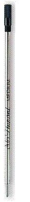 S.T. Dupont Recambio de bolígrafo estándar negro fino