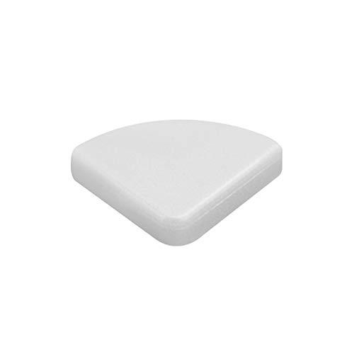 10pcs/Pack Protector de esquina, Protector de esquina sin sabor seguro para bebés Protectores de borde de muebles para protección de niños de bebé (blanco)