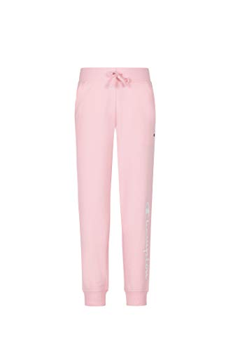 Champion Girls French Terry Pull On Sweatpants Jogger Kids Clothign (Pink Candy Heritage, X-Large)