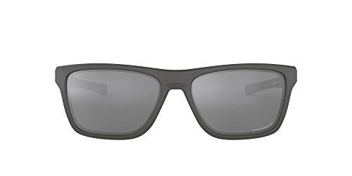 Oakley 0OO9334 Gafas de sol, Matte Dark Grey, 57 para Hombre