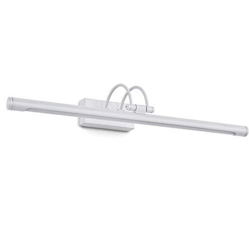 Home Equipment Luz de baño LED Lámpara de espejo de baño de estilo americano 350 grados;Lámpara de espejo giratoria blanca fría 6000K Baño Inodoro IP44 Aplique de pared antiniebla impermeable dora