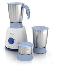 Philips Daily Collection HL7610/04 - Molinillo mezclador eléctrico (500 W, 3 frascos), color azul