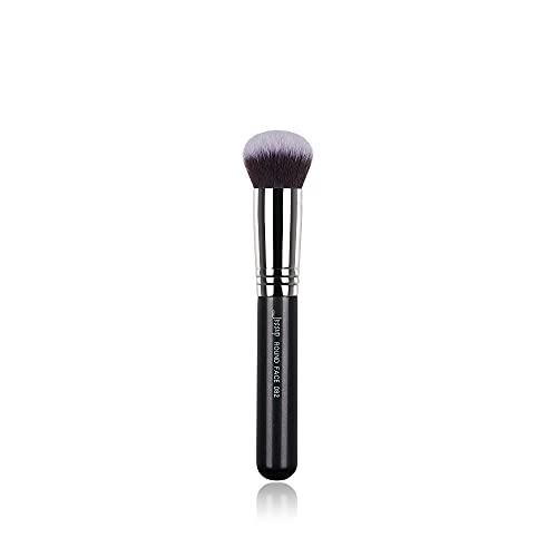 Jessup Pinceaux de maquillage Pinceaux de base Kabuki Pinceaux simples Pinceaux professionnels pour le visage Pinceaux de maquillage Pinceaux cosmétiques Cheveux synthétiques Noir B082-082
