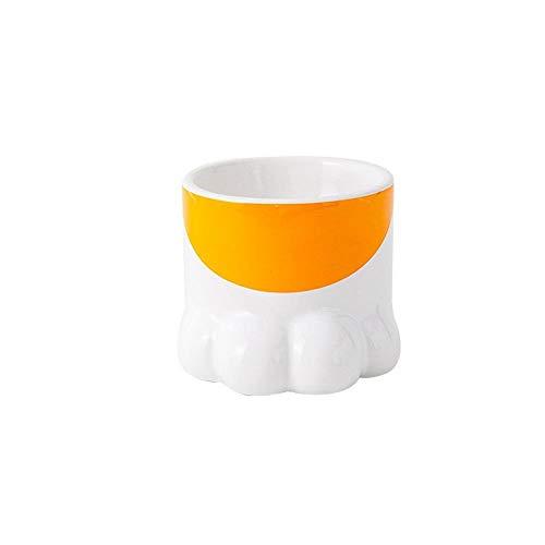 Cuenco de cerámica creativo de estilo japonés para gatos, cuenco de comida para gatos, alimentador Cervical protector de dibujos animados para perros, cuencos para beber para mascotas, como imagen