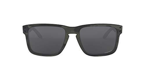 Oakley Herren 0OO9102 Sonnenbrille, Multicam Schwarz/Grau Polarisiert, 57 mm