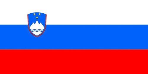 Qualitäts Fahne Flagge Slowenien 90 x 150 cm mit verstärktem Hissband