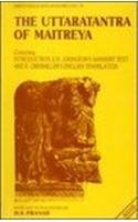 The Uttaratantra of Maitreya: Containing introduction, E.H. Johnston's Sanskrit text, and E. Obermiller's English translation (Bibliotheca Indo-Buddhica) 8170302633 Book Cover