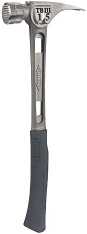 Stiletto TB3MC 15oz Ti Bone 3 Titanium Hammer with Milled Face Curved Handle and New Improved product image