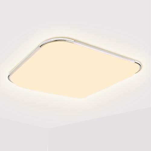 BMOT 36W LED Deckenleuchte Warmweiss Wand-Deckenleuchte Wohnraumleuchte Wasserdichte IP44 3200K für Wohnzimmer, Küche,Badezimmer