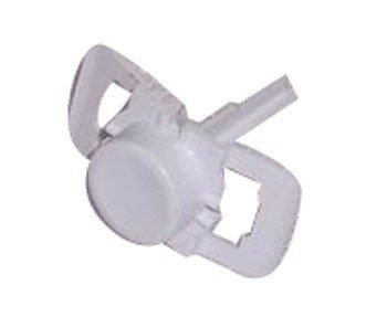 Selecline–Botón M/A Flat cóncavos blanco para lavavajillas Selecline