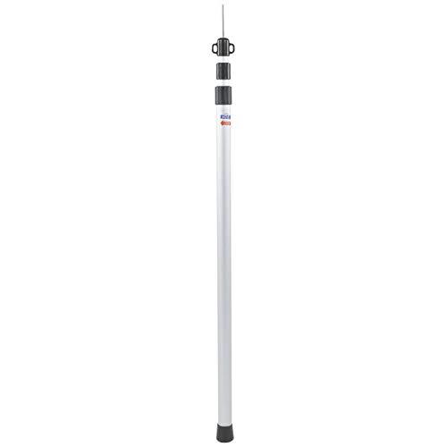 Specialty Toldo de Sombra de 2,3 m, aleación de Aluminio, 3 Secciones, toldo de Refugio al Aire Libre retráctil, Carpa, Barra de Soporte, Poste Vertical