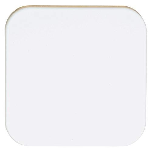 OPUS 1 Flächenwippe für Wandsender-Modul Ausführung ohne Symbol, Farbe reinweiß