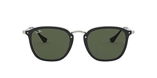 Ray-Ban RB 2448n Montature, Nero (Black/Green), 51 Unisex-Adulto