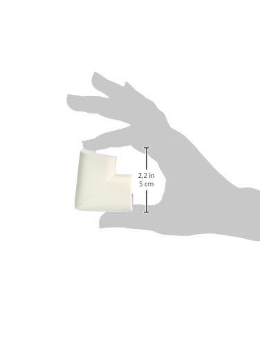 Amazon Brand - Solimo Corner Protectors for Babyproofing, White (20 Pre-taped Corner Guards) 2 21MCHFO2JqL