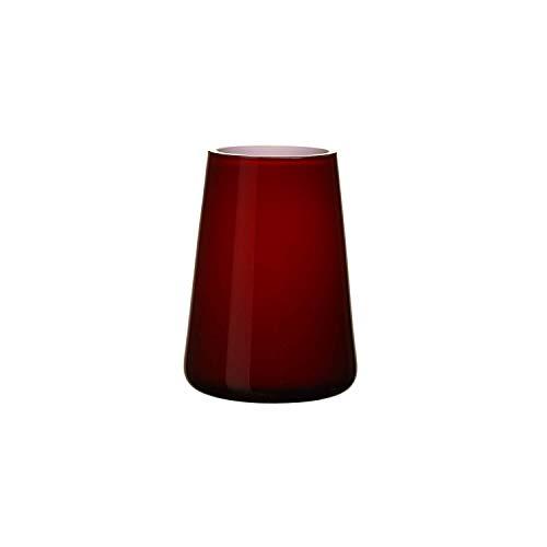 Villeroy & Boch Numa Mini Vase, rot (Deep Cherry), 12 x 9 x 6 cm