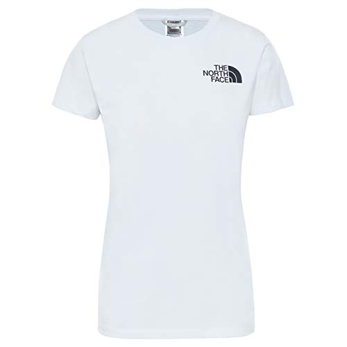The North Face - Camiseta para Mujer Half Dome - Manga Corta - White, S
