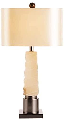 XFXDBT Lámpara de Mesa de mármol en Espiral Creativo Lámpara de Mesa de la Mesa de la Mesa de la Sala de Estar de la lámpara de la Mesa de la Mesa de la Mesa