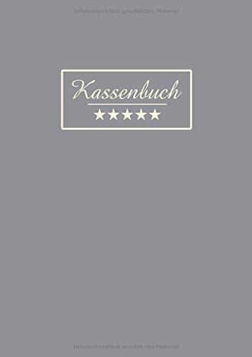 Kassenbuch: Einfache Buchhaltung für Selbständige, Kleingewerbe und Vereine. Übersichtlich alle Einnahmen und Ausgaben eintragen   DIN A4   110 Seiten