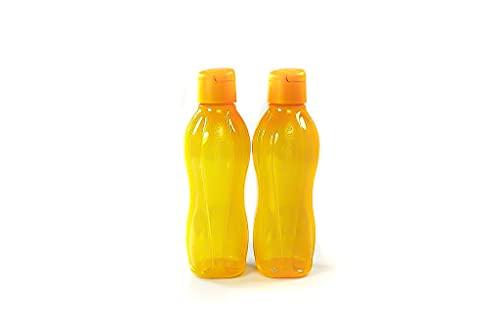 Tupperware to Go Eco - Botella de agua (750 ml), color naranja