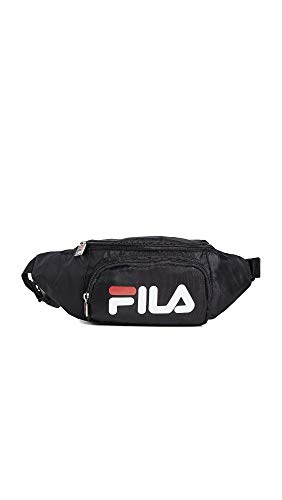 Fila Men's Fanny Pack, Black, One Size