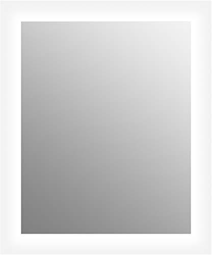 Lighted Bathroom Vanity Mirror from Sterling by KOHLER, Sunfield Collection, Frameless Rectangular LED Lighted Mirror, 78901-20-NA