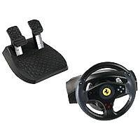 PC, PlayStation 2 - Lenkrad Ferrari GT 2in1 Rumble