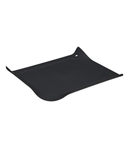 Secret de Gourmet - Planche à découper Noire avec rebord 30 x 26.5 cm collection Néo