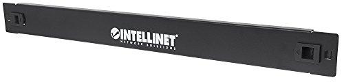 intellinet 714310 48,26 cm (19 Zoll) Blindabdeckung (werkzeuglos) 1HE Metall schwarz