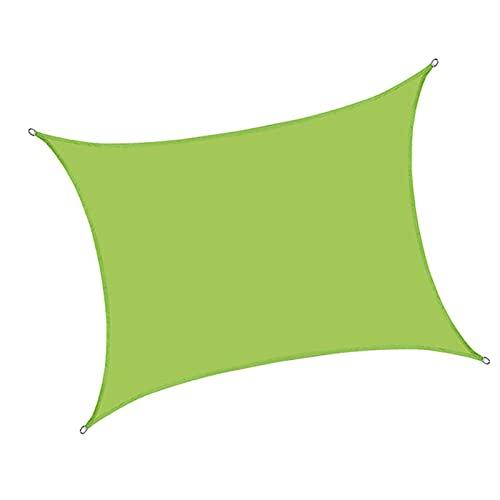 XYXH Toldo De Vela Cuadrado Impermeable 3x3m, Vela De Sombra para Exterior, Vela De Parasol Jardín, Duradero - para Patio Pergola Balcón Camping Piscina